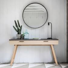 Concrete Console Table Concrete Styled Top 1 Drawer Console Table Allissias Attic