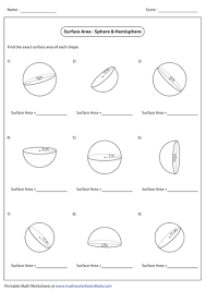 surface area and volume of spheres by abiggs1991 teaching