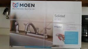 Moen Solidad Kitchen Faucet Moen Solidad 87302 Duralock Chrome Kitchen Sink Faucet Fixture In