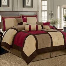Brown Queen Size Comforter Sets 7 Piece King Size Comforter Set