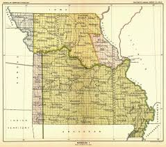 County Map Of Missouri Johnson County And Western Missouri History Native American