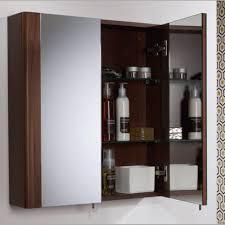 bathroom cabinets recessed wood medicine cabinet bathroom floor