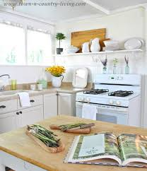 Cottage Style Kitchen Island by Take A Tour Of My Cottage Style Farmhouse Town U0026 Country Living