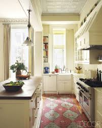 Galley Kitchen Rugs Kitchen Based Cabinetry Anything Wooden Always Makes A