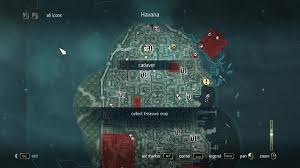Assassins Creed Black Flag Treasure Maps Assassin U0027s Creed Iv Black Flag Walkthrough