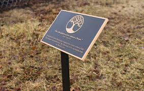 outdoor memorial plaques memorial garden plaques and signs cast bronze garden plaque with