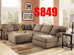 ashley home decor ashley furniture brody mocha sectional youtube