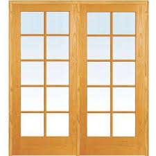 Home Depot Solid Wood Interior Doors by French Doors Interior U0026 Closet Doors The Home Depot