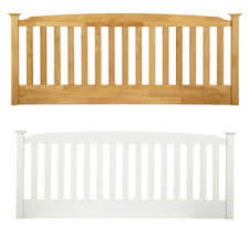 wooden headboards in a range of colours inc white bedstar