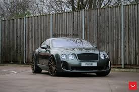 bentley custom bentley continental gt supersports struts its new shoes