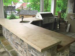 light colored concrete countertops outdoor ligth brown concrete kitchen countertops traditional