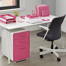 Matching Desk Accessories These Cheery Color Coordinated Desk Accessories Are Poppin