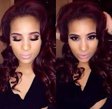 cyn santana burgundy hair cyn santana birthday colour 2015 maybe pinterest erica