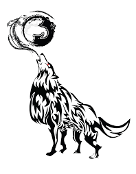 howling wolf tribal by chronophoenix on deviantart