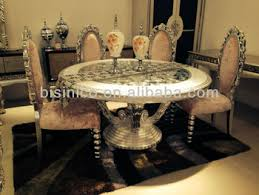 luxury round dining table luxury classic round dining table and chairs elegant dining room