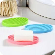 bathroom shoo holder 2018 silicone flexible soap dish plate bathroom soap holder home