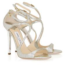 jimmy choo shoes wedding chagne glitter leather sandals lance jimmy choo