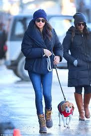 meghan markle toronto prince harry s girlfriend meghan markle takes her dog bogart to the