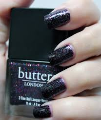 butter london the black knight over zoya casey cosmetic sanctuary