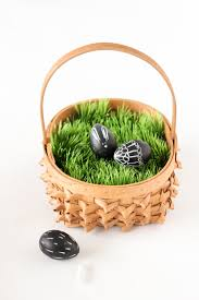 easter basket grass no mess easter basket grass