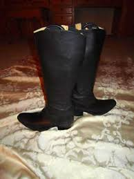 womens black cowboy boots size 9 s sendra black cowboy boots size 9 made in spain ebay