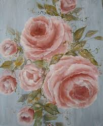 Shabby Chic Rose by Shabby Chic Rose Paintings Shabby Chic Roses Photo Print Of