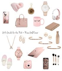 gift guide for the pink gold lover