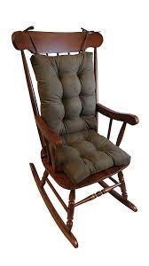 amazon com the gripper non slip rocking chair cushion set