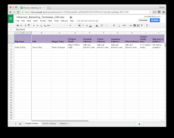 excel templates daily planner 15 new social media templates to save you even more time influencer marketing template