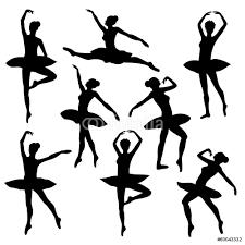 ballet silhouette ballerina dancer figure wall sticker wall stickers ballet silhouette ballerina dancer figure wall sticker