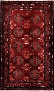 7 X 9 Wool Rug Afghan Hand Knotted Tribal Balouchi Wool Rug 5 U00277 X 9 U00273 Herat