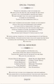 simple wedding program wording best 25 wedding programs wording ideas on wedding