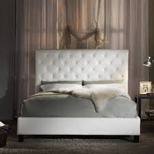 Design For Tufted Upholstered Headboards Ideas White Upholstered Headboards Ideas Tufted White Headboard