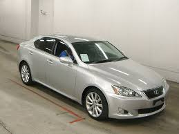 silver lexus 2009 2009 lexus is250 version l japanese used cars auction online