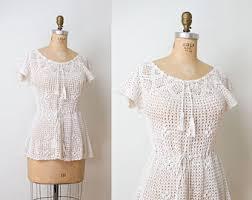 crochet blouses crochet blouse etsy