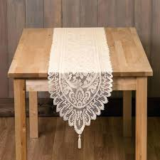 lace table runners wholesale ivory lace table runners like this item burlap and lace table