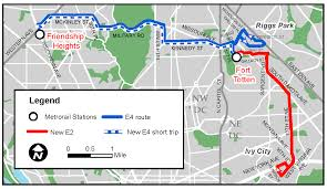 Metro Map Silver Line by Planitmetro Service Changes