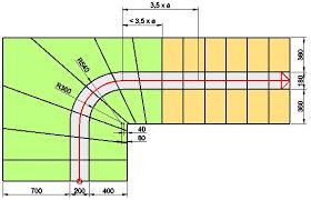 halbgewendelte treppe konstruieren regelungen der norm trepedia