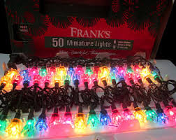 vintage christmas lights etsy