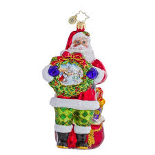 11 best christopher radko santa ornaments images on