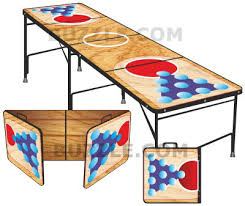 fold up beer pong table learn how to make a beer pong table with these easy instructions