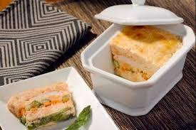 recette de cuisine petit chef recette de terrine de langoustines et saumon aux petits légumes