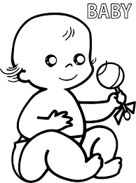 preschool baby coloring pages wecoloringpage