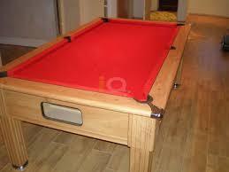 Red Felt Pool Table Pool Table Installations Showcase Iq