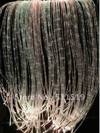 fiber optic light strands sparkle fiber optic curtain light with 100pcs twinkle 3 0 75mm fiber