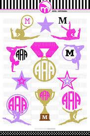 105 best svg monogram cut files vinyl decals images on