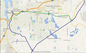 Federal Way Seattle Map by Sounder To Olympia Is Not Out Of Reach