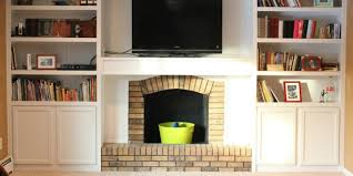 How To Cover Brick Fireplace by Remodelaholic 25 Best Diy Fireplace Makeovers