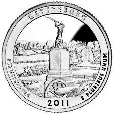 gettysburg national military park quarter u s mint