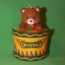 1992 crayola binney and smith hallmark ornament no box the